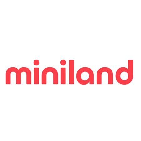 Miniland® Set dveh posodic s termo torbo 330ml Rosa