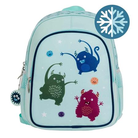 Slika A Little Lovely Company® Izoliran otroški nahrbtnik Mini pošasti
