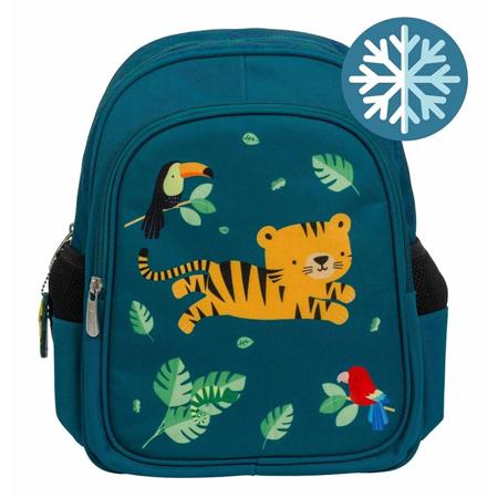 Slika A Little Lovely Company® Izoliran otroški nahrbtnik Jungle Tiger