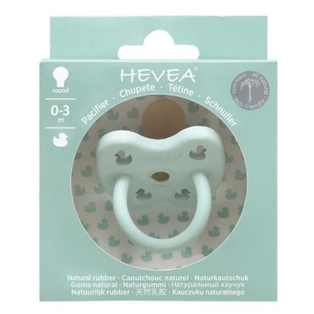 Hevea® Tolažilna duda iz kavčuka RAČKA (0-3m) Mellow Mint
