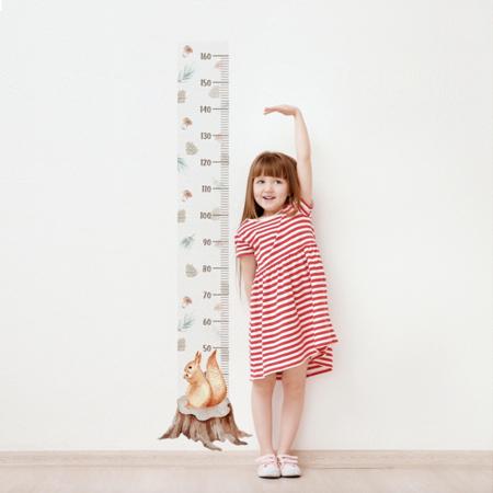 Slika Yokodesign® Stenska nalepka meter Veverica