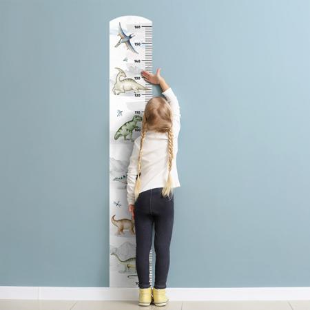 Slika Yokodesign® Stenska nalepka meter Dinozavri