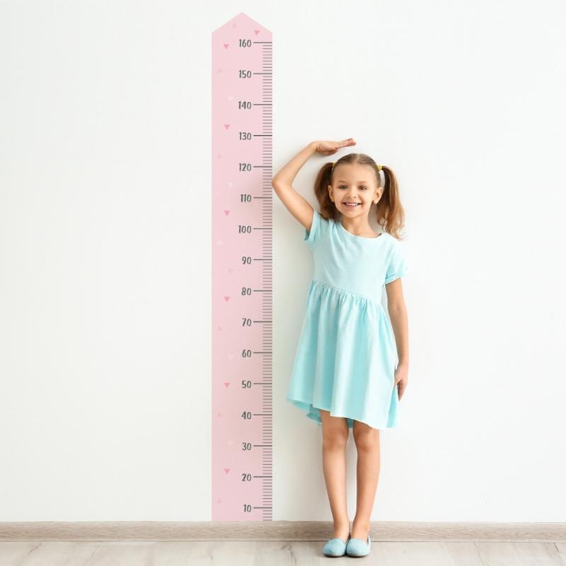 Yokodesign® Stenska nalepka meter Roza