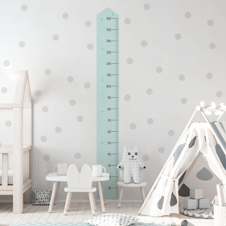 Slika Yokodesign® Stenska nalepka meter Moder