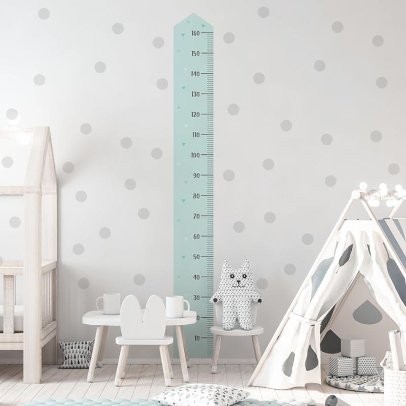 Yokodesign® Stenska nalepka meter Moder