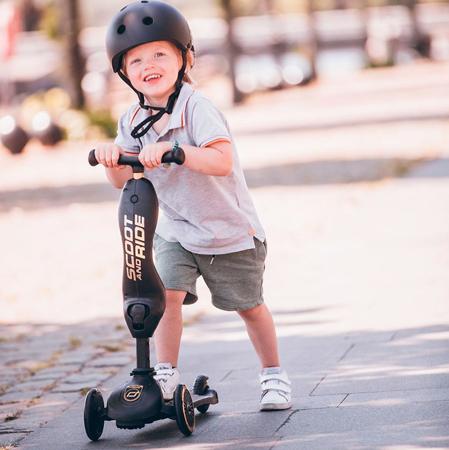 Scoot & Ride® Otroški poganjalec in skiro Highwaykick 1 Black/Gold Limited Edition