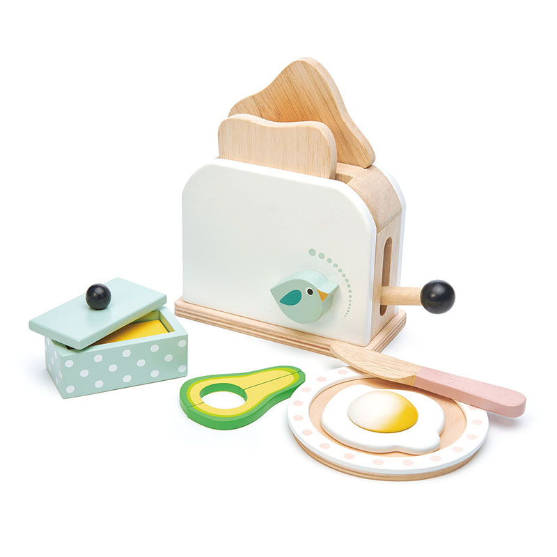Tender Leaf Toys® Set za zajtrk Breakfast Toaster Set