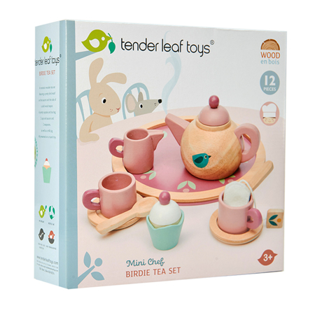 Tender Leaf Toys® Čajanka Birdie Tea Set