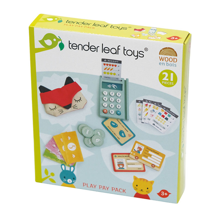 Tender Leaf Toys® Čitalec kartic Play Pay Pack
