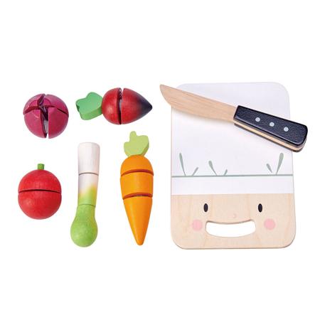 Tender Leaf Toys® Lesena deska za rezanje Mini Chef Chopping Board