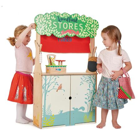 Tender Leaf Toys® Trgovina in Gledališče Woodland Stores and Theater