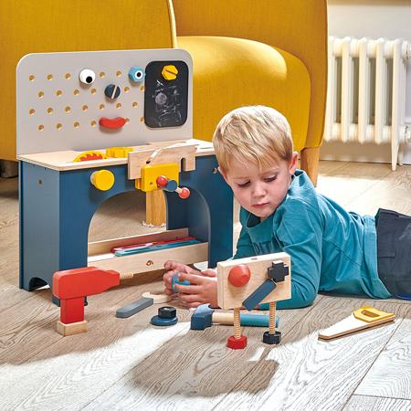 Tender Leaf Toys® Miza z orodjem Table Top Tool Bench