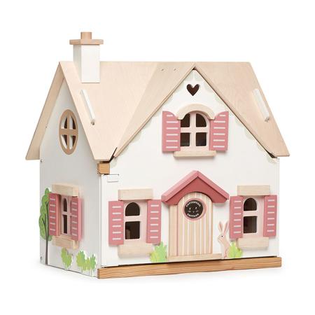Slika Tender Leaf Toys® Lesena hiška Cottontail Cottage