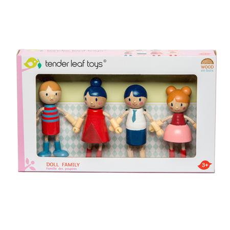 Tender Leaf Toys® Lesene lutke Doll Family