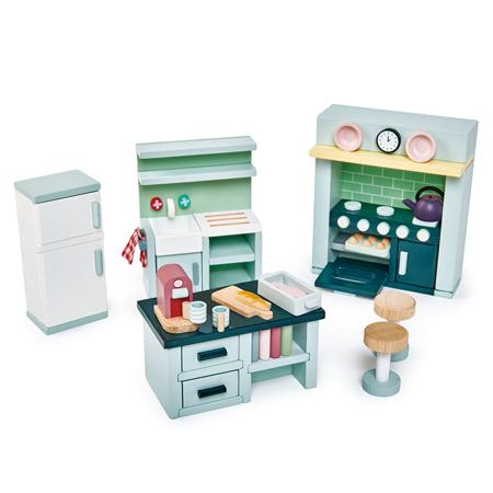 Slika Tender Leaf Toys® Kuhinja za lutke Dolls House Kitchen Furniture