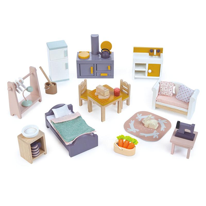Tender Leaf Toys® Komplet pohištva za lutke Countryside Furniture Set
