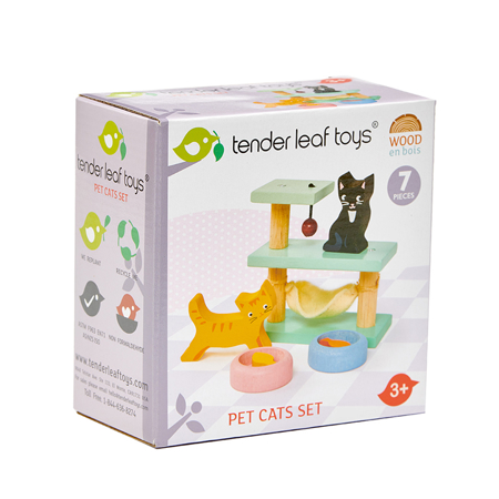 Slika Tender Leaf Toys® Mucke Pet Cats Set