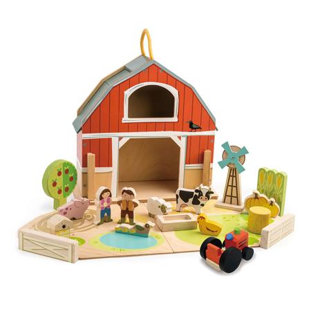 Slika Tender Leaf Toys® Skedenj Little Barn Set