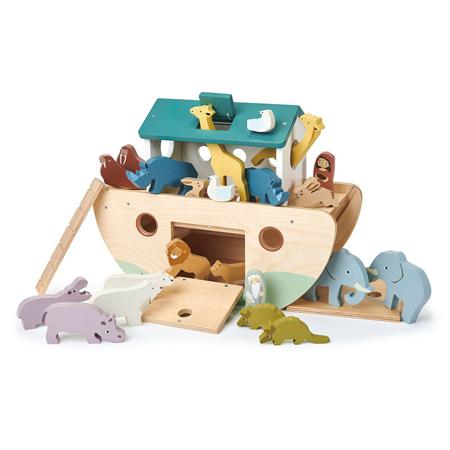 Slika Tender Leaf Toys® Noetova barka Noah's Wooden Ark