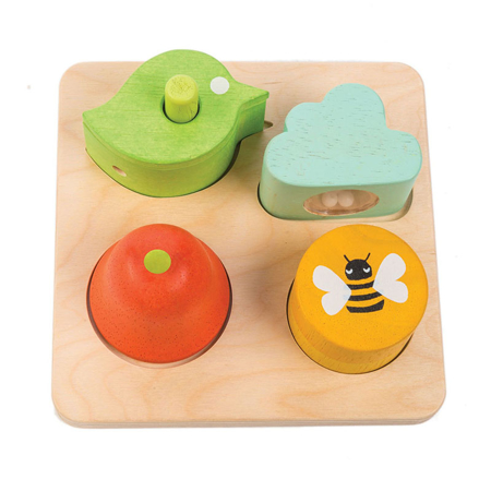 Tender Leaf Toys® Aktivnostna igrača za sluh Audio Sensory Tray