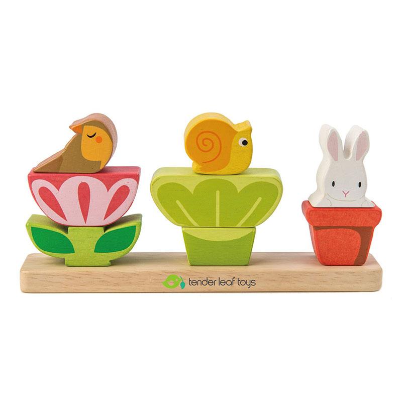 Tender Leaf Toys® Aktivnostna igrača Vrt Garden Stacker