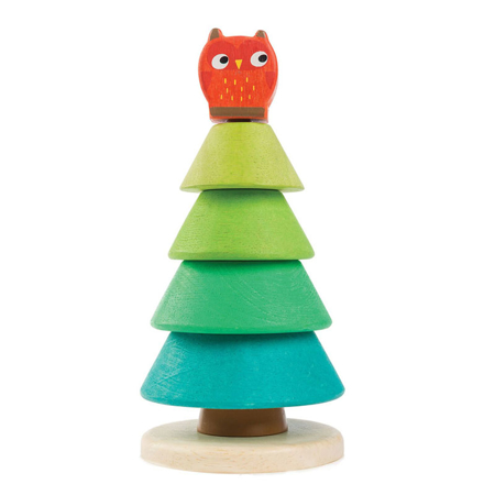 Slika Tender Leaf Toys® Aktivnostna igrača Jelka Stacking Fir Tree