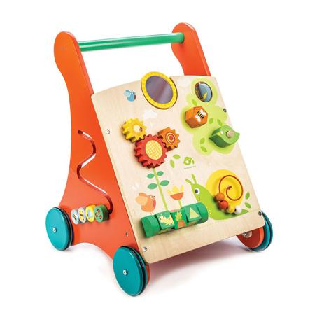 Slika Tender Leaf Toys® Aktivnostni voziček Activity Walker