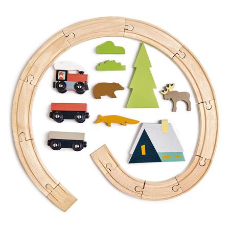 Tender Leaf Toys® Treetops Train Set