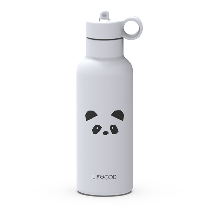 Slika Liewood® Termo steklenička Neo Panda Light Grey 500ml