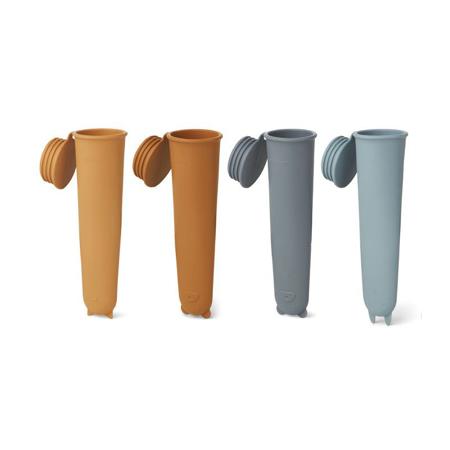 Slika Liewood® Silikonski modelčki za sladoled Blue Multi Mix