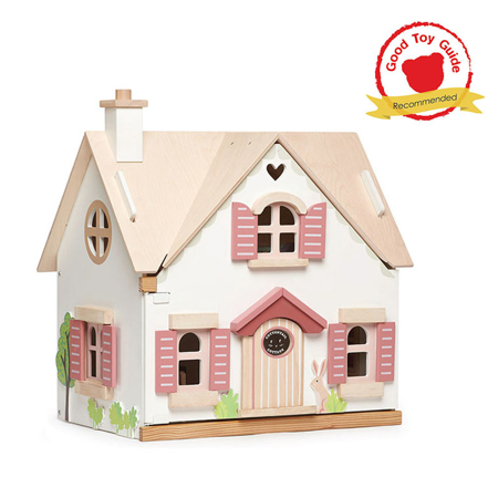 Slika Tender Leaf Toys® Lesena hiška Cottontail Cottage