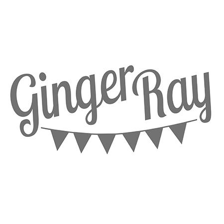Ginger Ray® Okrasek za torto Gold Happy Birthday