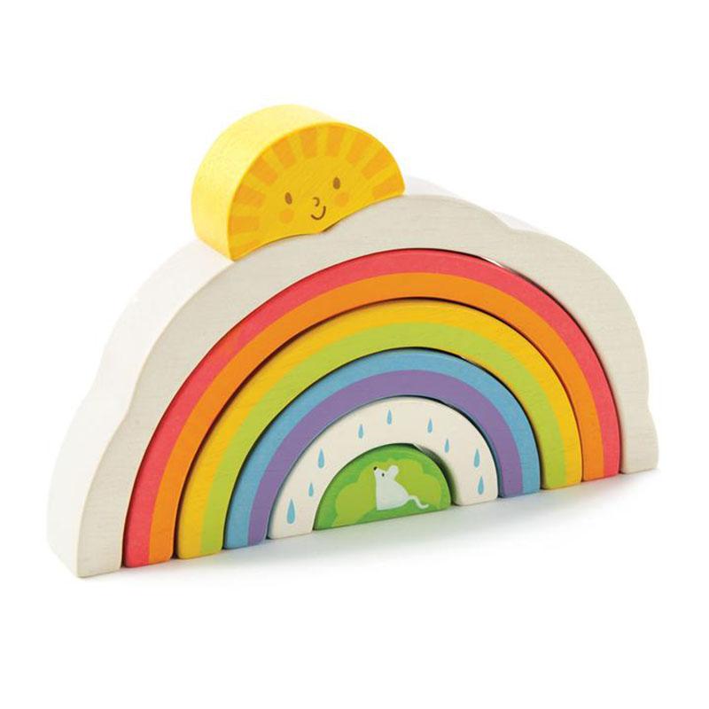 Tender Leaf Toys® Mavrični tunel Rainbow Tunnel