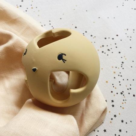Konges Sløjd® Grizalo žoga iz naravnega kavčuka Sahara