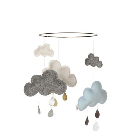 Slika Konges Sløjd® Vrtiljak za posteljico Blue/White