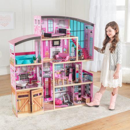 Slika KidKraft® Velika hiška za punčke Shimmer Mansion