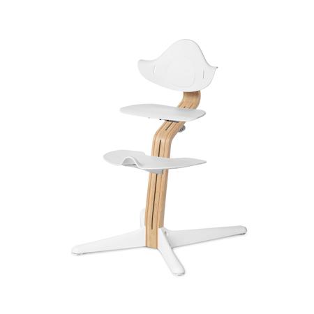 Slika Nomi® Otroški stolček za hranjenje White/Oak