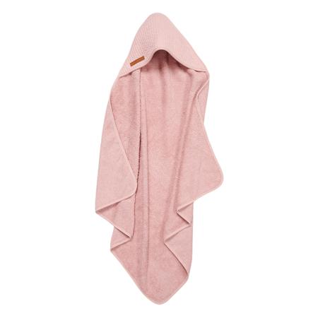 Slika Little Dutch® Brisača s kapuco Pure Pink 75x75