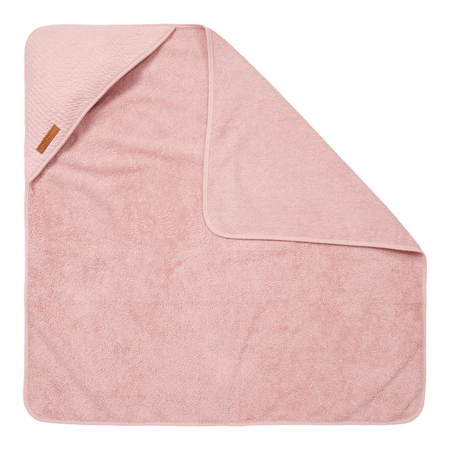 Little Dutch® Brisača s kapuco Pure Pink 75x75