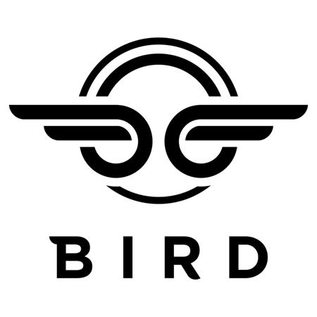 Bird® Otroški skiro Birdie Dove White