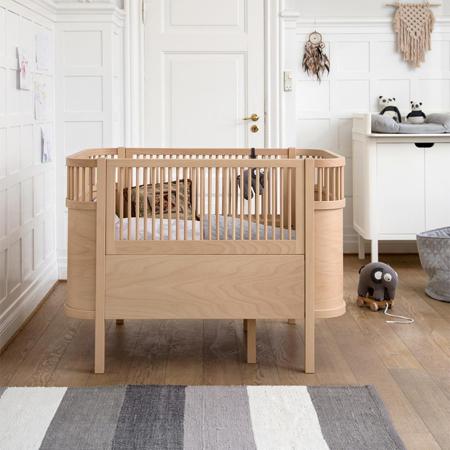Sebra® Otroška posteljica Sebra Wooden Edition