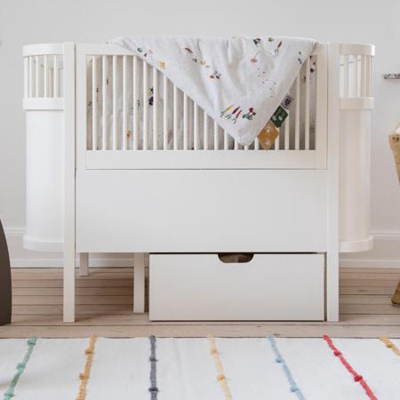 Slika Sebra® Otroška posteljica Sebra Classic White