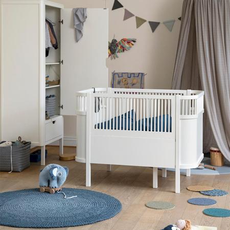 Sebra® Otroška posteljica Sebra Classic Grey