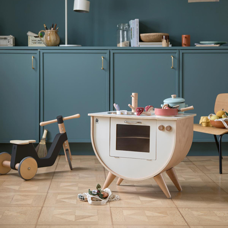 Slika Sebra® Lesena otroška kuhinja Classic White