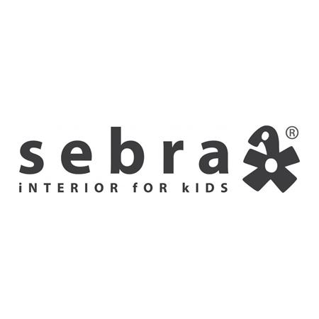 Sebra® Ograja za posteljo Sebra Classic White