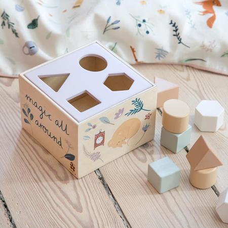 Slika Sebra® Lesena kocka z oblikami Daydream