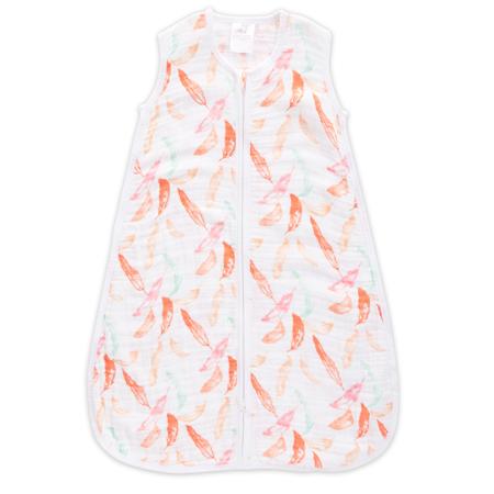 Slika Aden+Anais® Klasična letna spalna vreča (Tog 1.0) - Petal Blooms (18-36m)