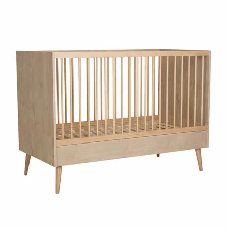 Slika Quax® Otroška posteljica Cocoon 140x70 Natural Oak
