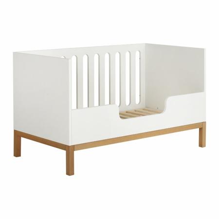 Quax®  Ograjica za otroško posteljico Indigo 140x70 White