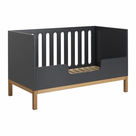 Slika Quax®  Ograjica za otroško posteljico Indigo 140x70 Moonshadow